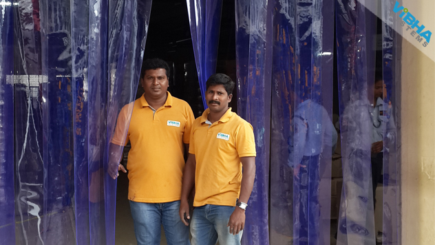 Ware House PVC Strip Curtains Hyderabad